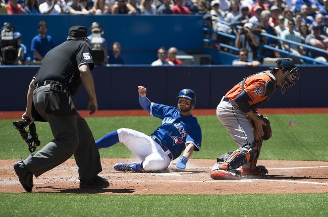 Blue Jays vs. Astros - 6/7/15 MLB Pick, Odds, and Prediction