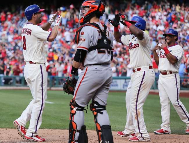 Phillies vs. Giants - 6/7/15 MLB Pick, Odds, and Prediction