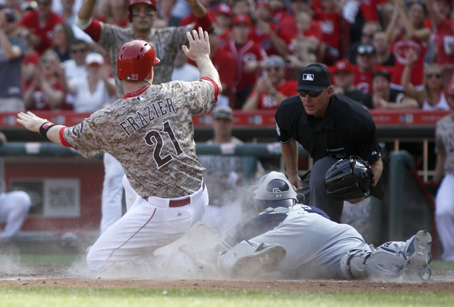Reds vs. Padres - 6/7/15 MLB Pick, Odds, and Prediction