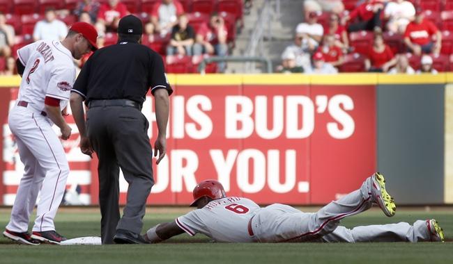 Cincinnati Reds vs. Philadelphia Phillies - 6/9/15 MLB Pick, Odds, and Prediction