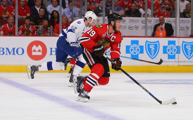 Chicago Blackhawks vs. Tampa Bay Lightning - 6/10/15 NHL Pick, Odds, and Prediction