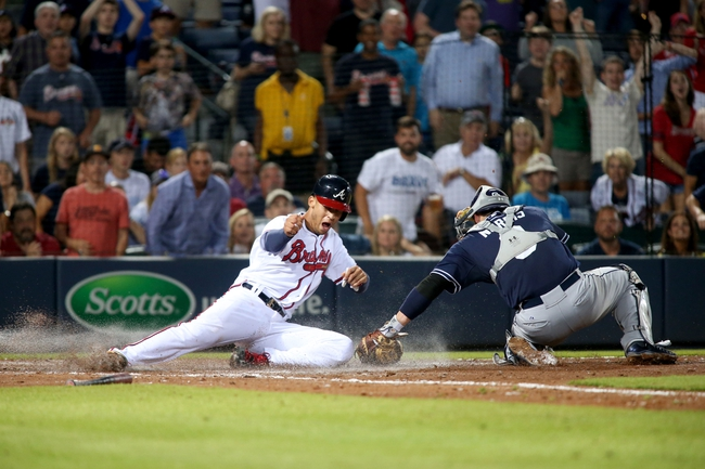 Braves vs. Padres - 6/10/15 MLB Pick, Odds, and Prediction