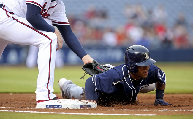 Padres at Braves - 6/11/15 MLB Pick, Odds, and Prediction
