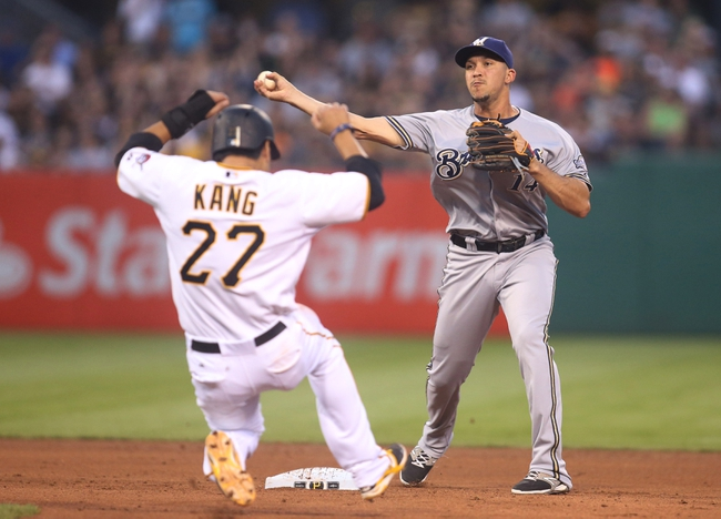 Milwaukee Brewers vs. Pittsburgh Pirates - 7/17/15 MLB Pick, Odds, and Prediction