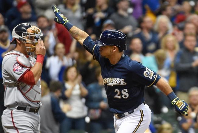 Milwaukee Brewers vs. Washington Nationals - 6/12/15 MLB Pick, Odds, and Prediction