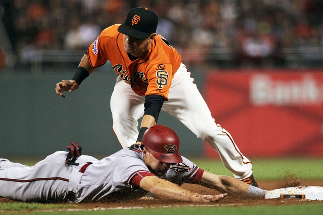 San Francisco Giants vs. Arizona Diamondbacks - 6/13/15 MLB Pick, Odds, and Prediction