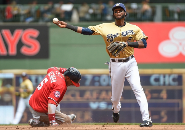 Washington Nationals vs. Milwaukee Brewers - 8/21/15 MLB Pick, Odds, and Prediction