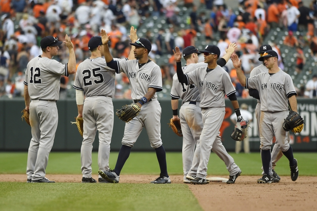 Yankees vs. Orioles - 7/21/15 MLB Pick, Odds, and Prediction
