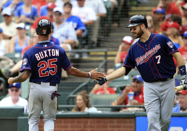 Rangers at Twins - 8/11/15 MLB Pick, Odds, and Prediction