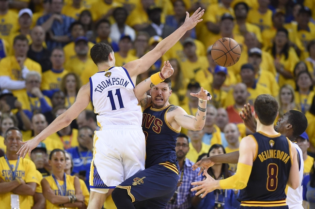 Golden State Warriors at Cleveland Cavaliers Game Six - 6/16/15 NBA Pick, Odds, and Prediction
