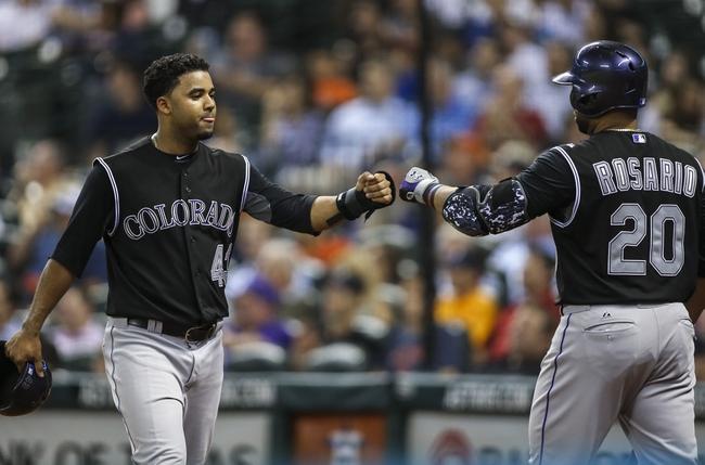 Colorado Rockies vs. Houston Astros - 6/18/15 MLB Pick, Odds, and Prediction