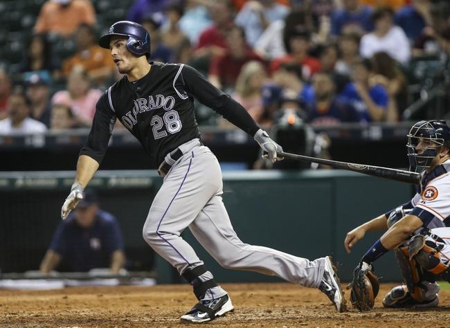Astros at Rockies - 6/17/15 MLB Pick, Odds, and Prediction