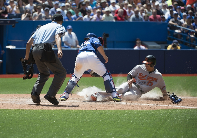 Toronto Blue Jays vs. Baltimore Orioles - 6/21/15 MLB Pick, Odds, and Prediction