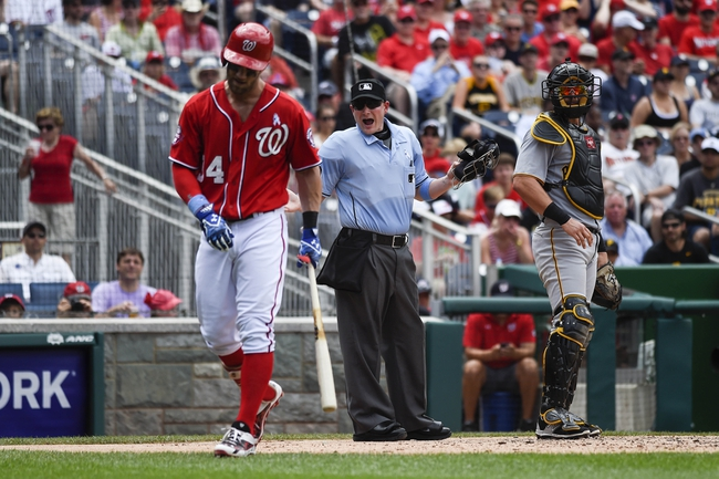 Pirates vs. Nationals - 7/23/15 MLB Pick, Odds, and Prediction