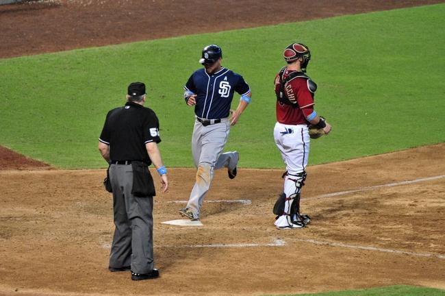 San Diego Padres vs. Arizona Diamondbacks - 6/26/15 MLB Pick, Odds, and Prediction