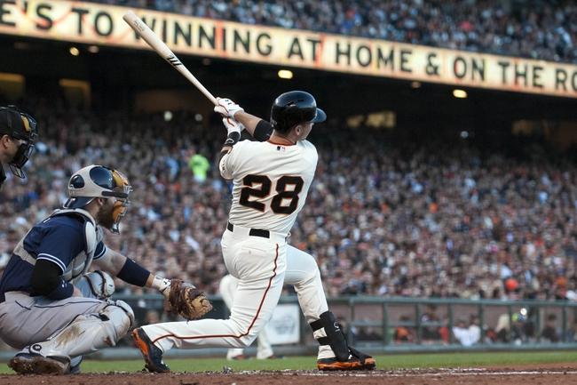 San Francisco Giants vs. San Diego Padres - 6/25/15 MLB Pick, Odds, and Prediction