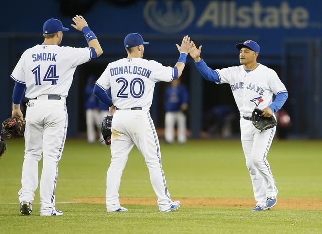 Blue Jays vs. Rangers - 6/27/15 MLB Pick, Odds, and Prediction