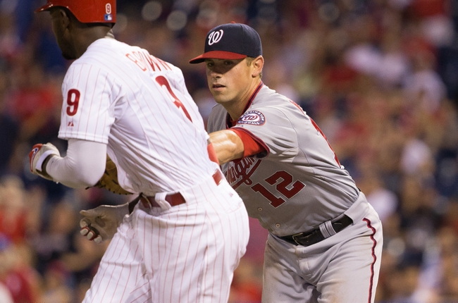 Philadelphia Phillies vs. Washington Nationals - 6/27/15 MLB Pick, Odds, and Prediction