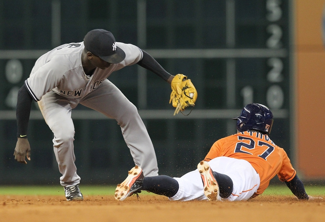 Houston Astros vs. New York Yankees - 6/27/15 MLB Pick, Odds, and Prediction