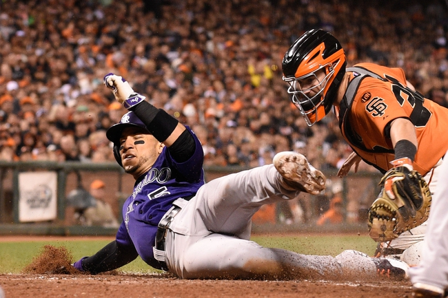 San Francisco Giants vs. Colorado Rockies - 6/28/15 MLB Pick, Odds, and Prediction