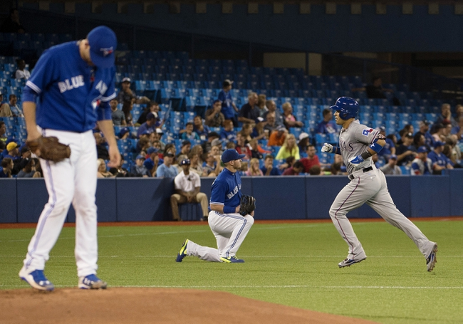 Blue Jays vs. Rangers - 6/28/15 MLB Pick, Odds, and Prediction