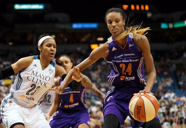 Tulsa Shock vs. Phoenix Mercury - 7/2/15 WNBA Pick, Odds, and Prediction