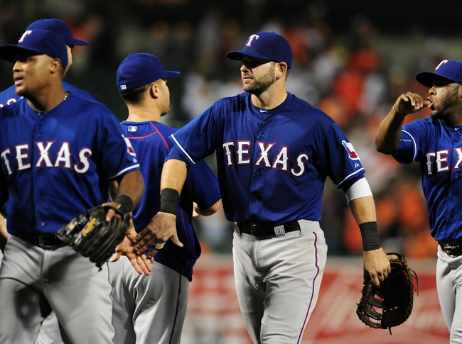 Baltimore Orioles vs. Texas Rangers - 7/1/15 MLB Pick, Odds, and Prediction