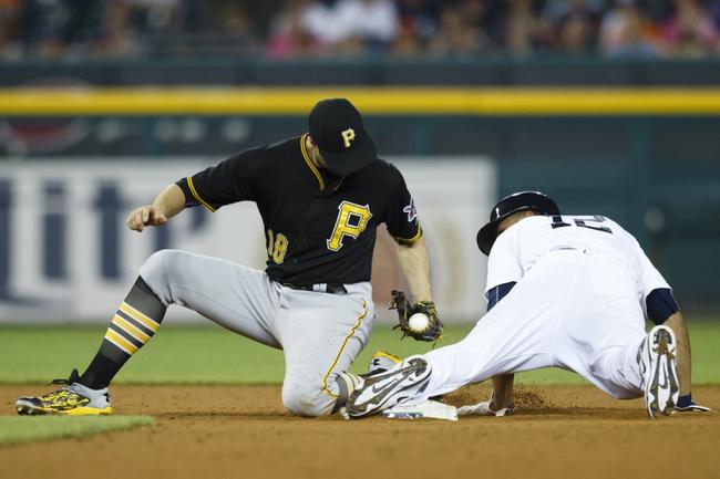 Tigers vs. Pirates - 7/1/15 MLB Pick, Odds, and Prediction