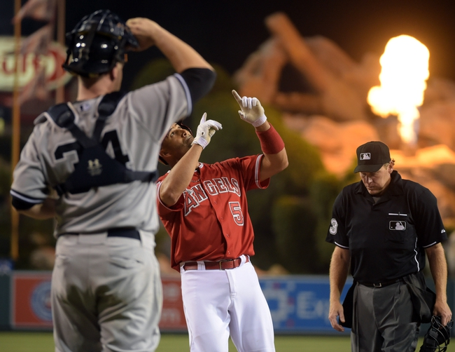 Los Angeles Angels vs. New York Yankees - 7/1/15 MLB Pick, Odds, and Prediction