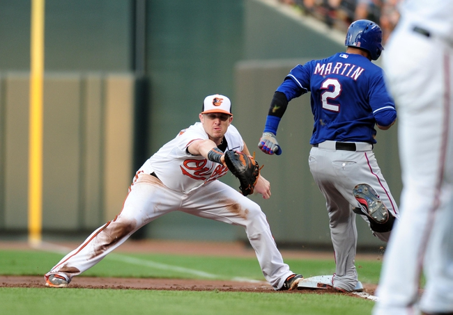 Orioles vs. Rangers - 7/2/15 MLB Pick, Odds, and Prediction