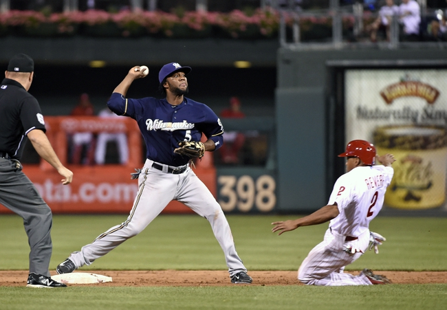 Philadelphia Phillies vs. Milwaukee Brewers - 7/2/15 MLB Pick, Odds, and Prediction
