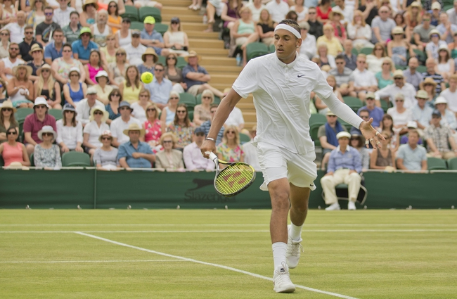 Richard Gasquet vs. Nick Kyrgios 2015 Wimbledon Tennis Pick, Odds, Prediction