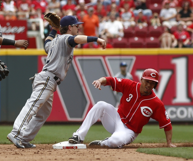 Milwaukee Brewers vs. Cincinnati Reds - 8/28/15 MLB Pick, Odds, and Prediction