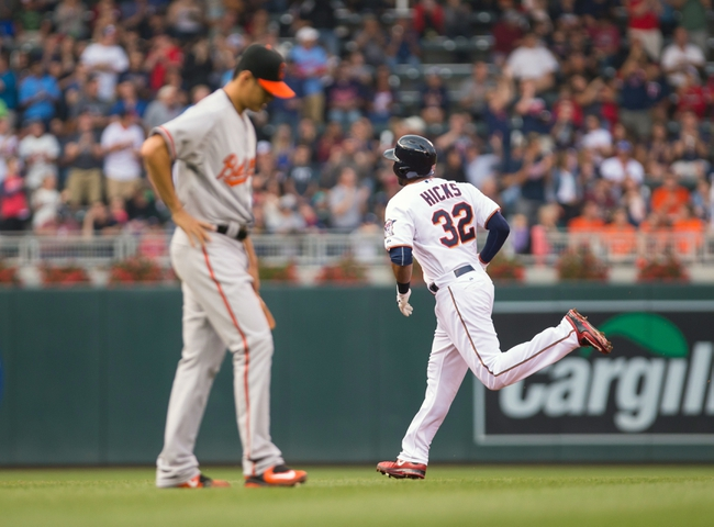 Minnesota Twins vs. Baltimore Orioles - 7/7/15 MLB Pick, Odds, and Prediction