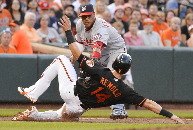 Orioles vs. Nationals - 7/11/15 MLB Pick, Odds, and Prediction