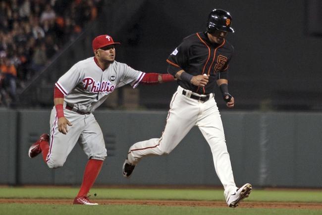 San Francisco Giants vs. Philadelphia Phillies - 6/24/16 MLB Pick, Odds, and Prediction