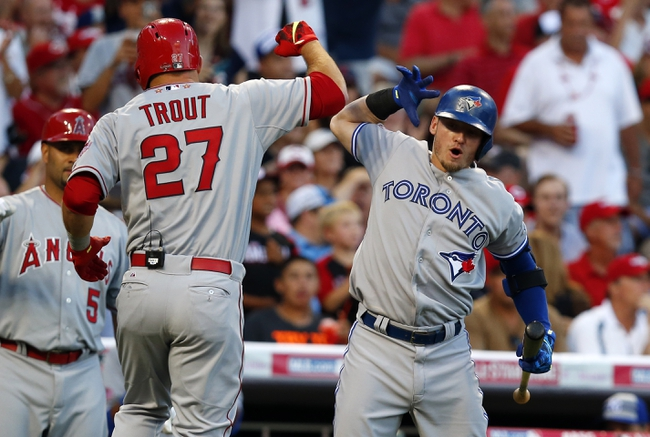 Angels vs. Blue Jays - 8/21/15 MLB Pick, Odds, and Prediction