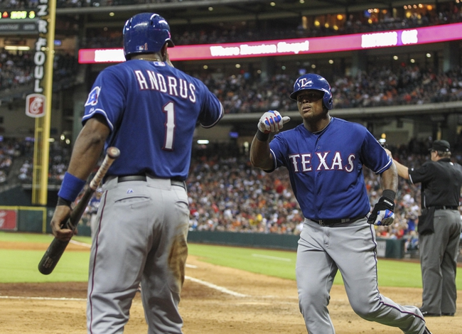 Houston Astros vs. Texas Rangers - 7/18/15 MLB Pick, Odds, and Prediction