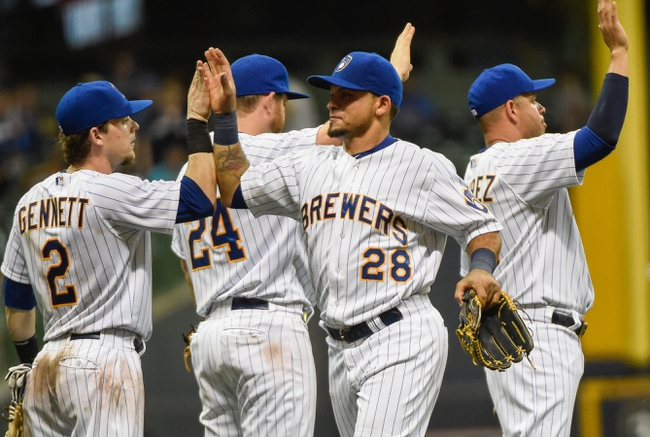 Brewers vs. Pirates - 9/1/15 MLB Pick, Odds, and Prediction