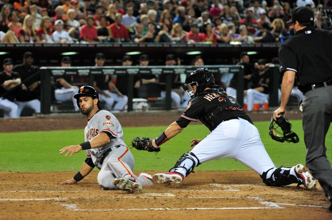 Arizona Diamondbacks vs. San Francisco Giants - 7/19/15 MLB Pick, Odds, and Prediction