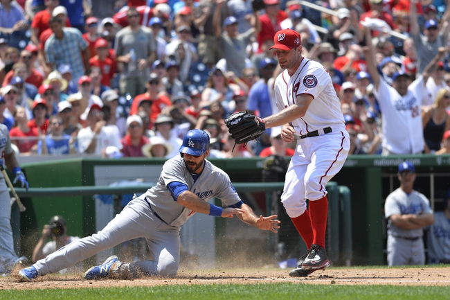 Los Angeles Dodgers vs. Washington Nationals - 8/10/15 MLB Pick, Odds, and Prediction