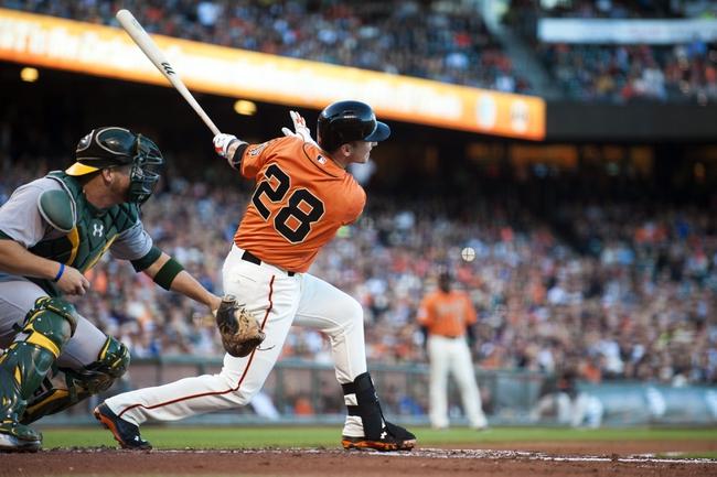 San Francisco Giants vs. Oakland Athletics - 7/25/15 MLB Pick, Odds, and Prediction