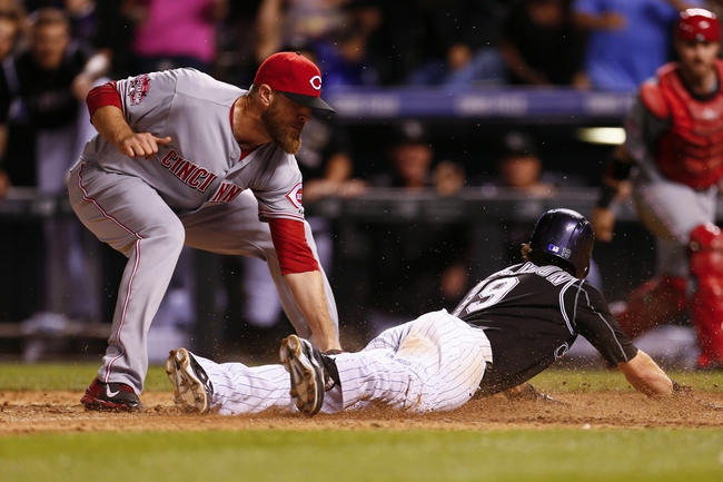 Colorado Rockies vs. Cincinnati Reds - 7/25/15 MLB Pick, Odds, and Prediction