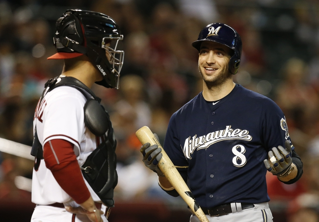Arizona Diamondbacks vs. Milwaukee Brewers - 7/26/15 MLB Pick, Odds, and Prediction