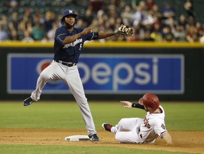 Arizona Diamondbacks vs. Milwaukee Brewers - 7/25/15 MLB Pick, Odds, and Prediction