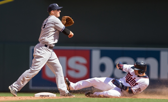 New York Yankees vs. Minnesota Twins - 8/17/15 MLB Pick, Odds, and Prediction