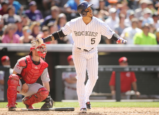 Cincinnati Reds vs. Colorado Rockies - 4/18/16 MLB Pick, Odds, and Prediction
