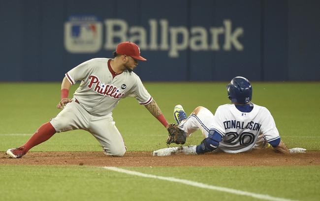 Philadelphia Phillies vs. Toronto Blue Jays - 8/18/15 MLB Pick, Odds, and Prediction