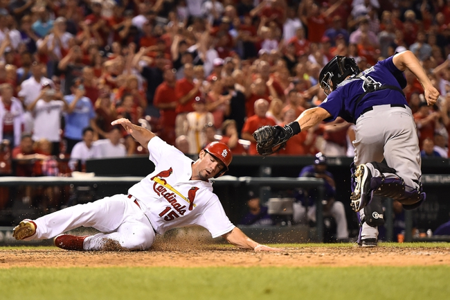 St. Louis Cardinals vs. Colorado Rockies - 7/31/15 MLB Pick, Odds, and Prediction