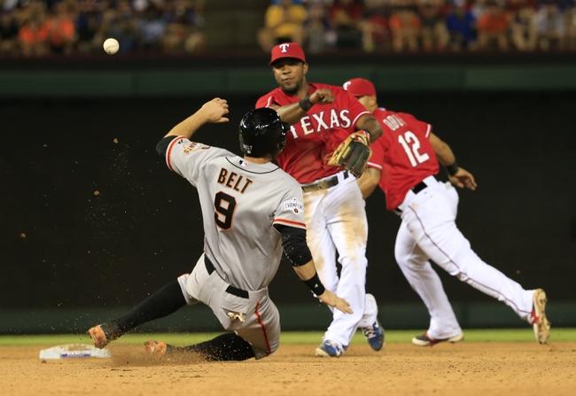 Texas Rangers vs. San Francisco Giants - 8/2/15 MLB Pick, Odds, and Prediction